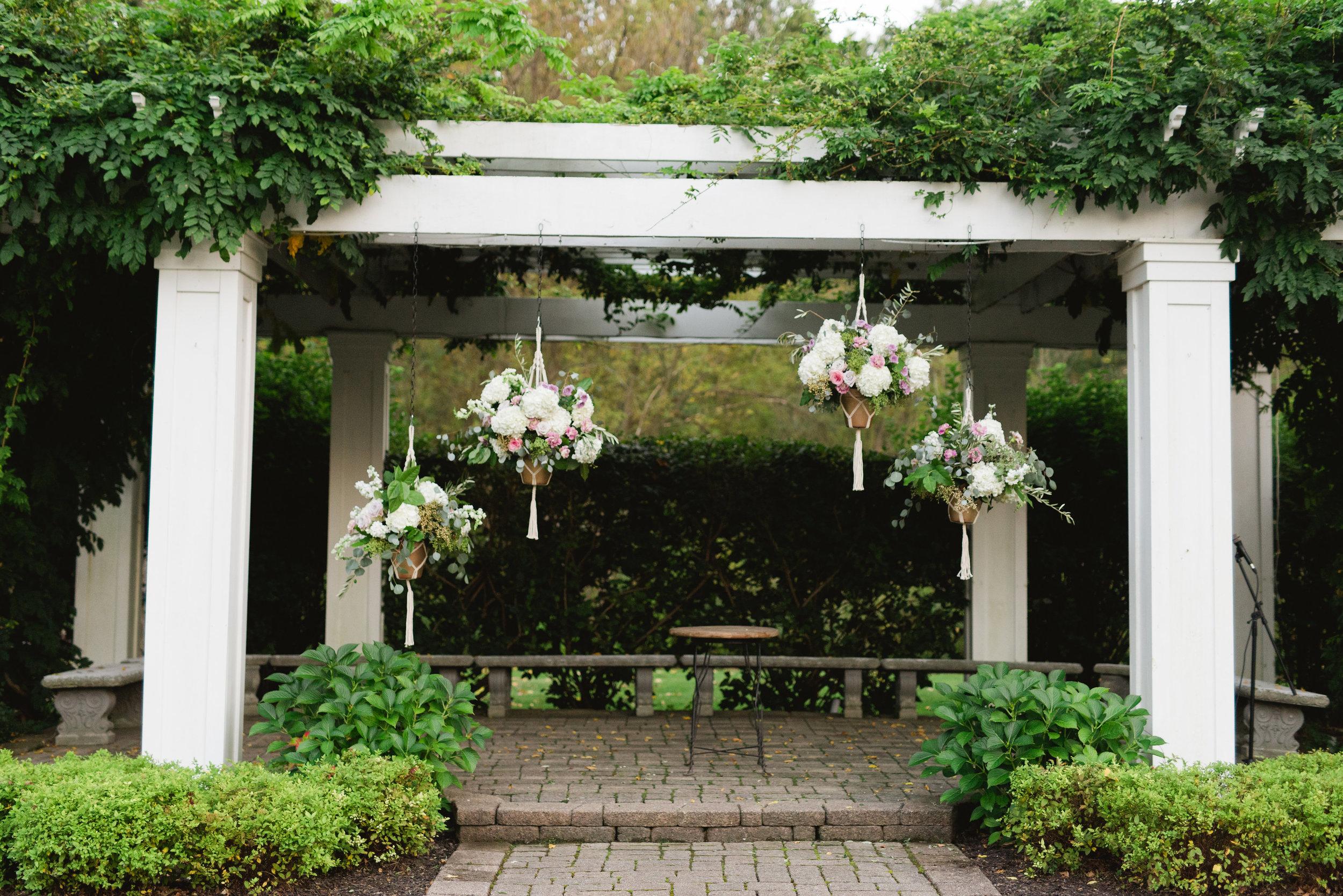 wellers wedding outdoor ceremony
