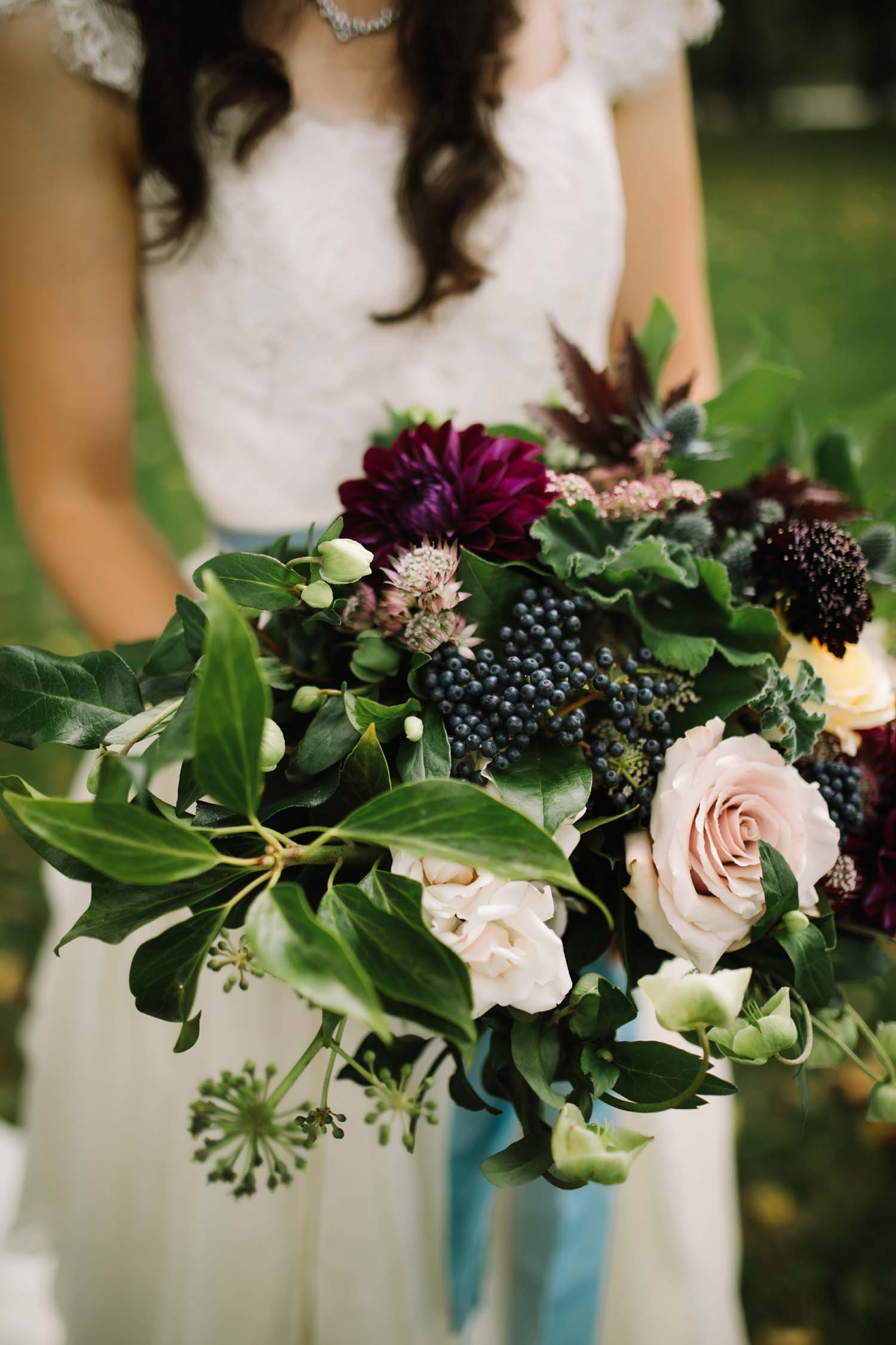 bride bouquet ann arbor wedding