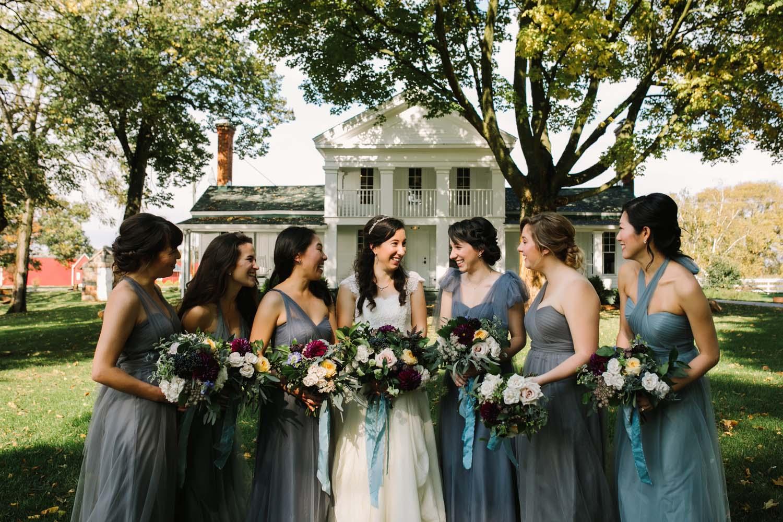 cornman farms wedding party