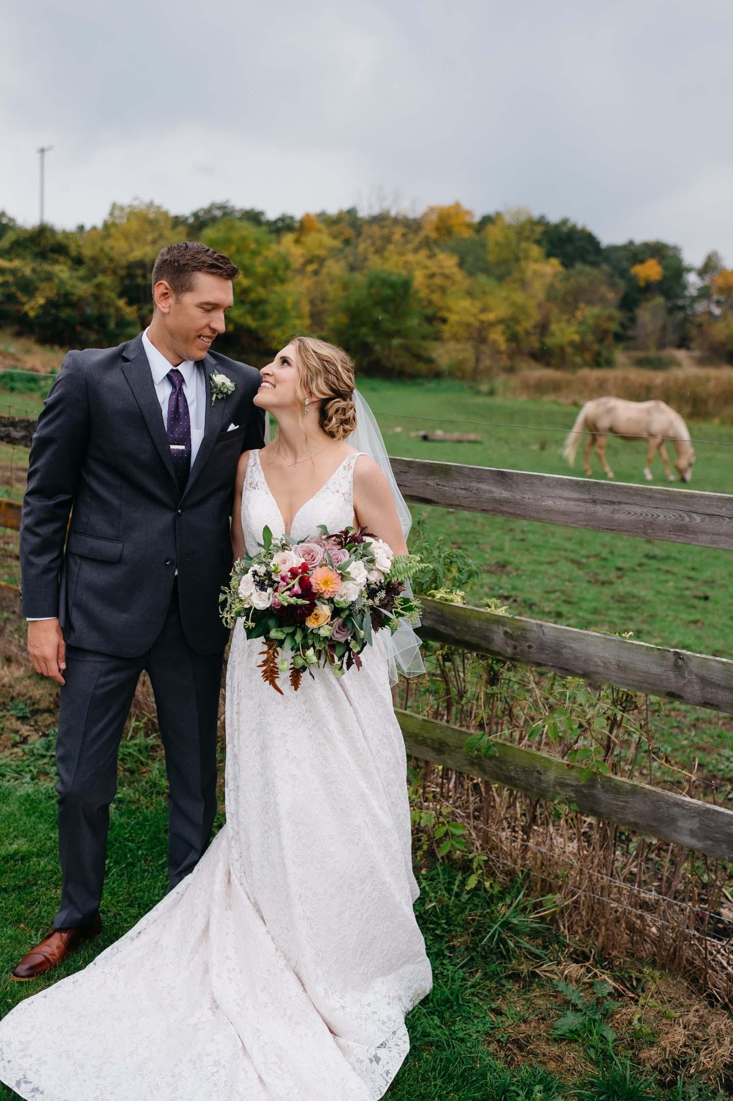 misty farm ann arbor wedding