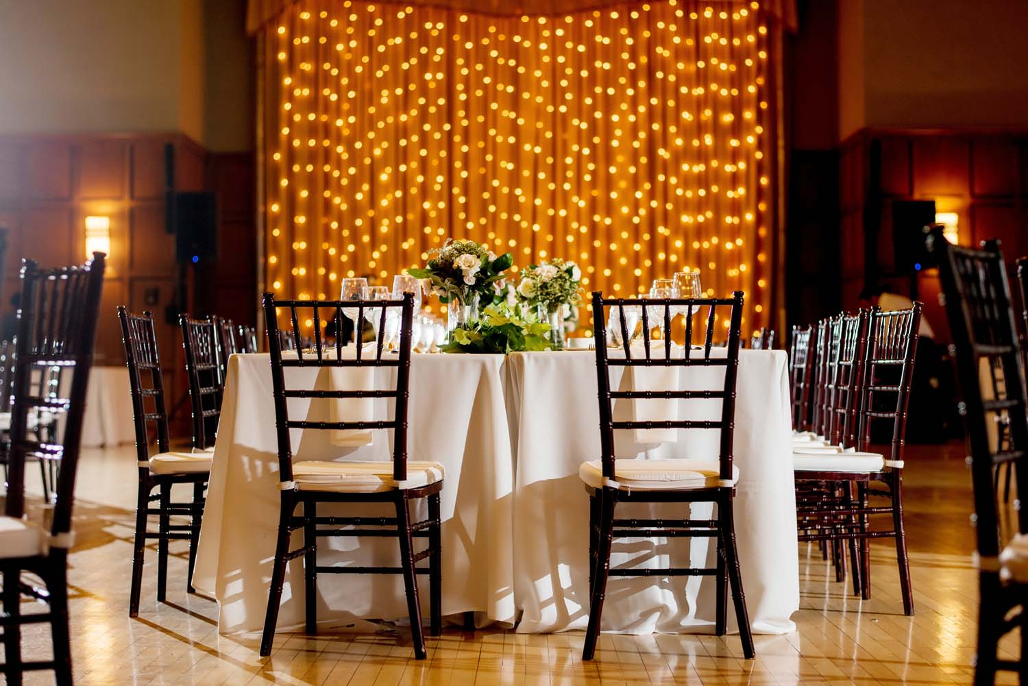 michigan league ballroom wedding reception