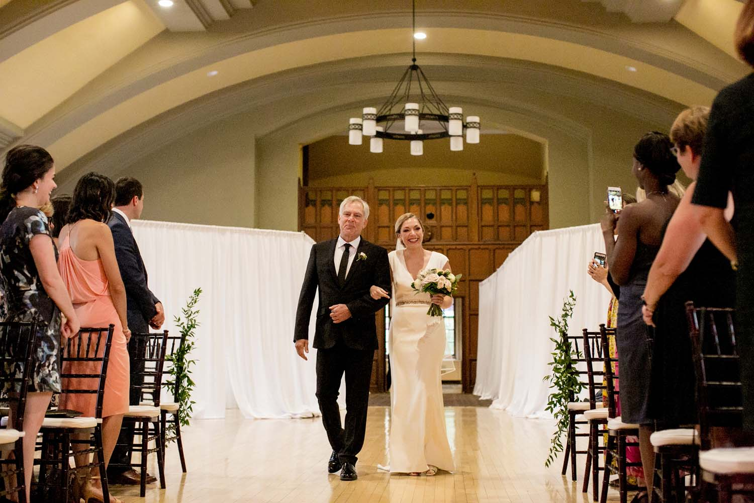 michigan league ballroom wedding ceremony