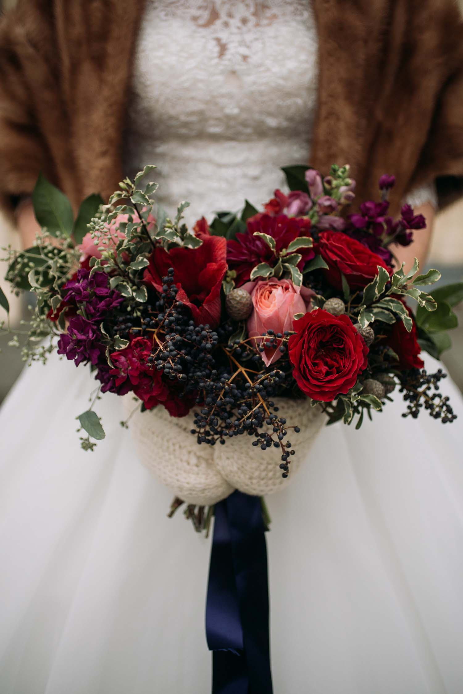 ann arbor wedding bouquet