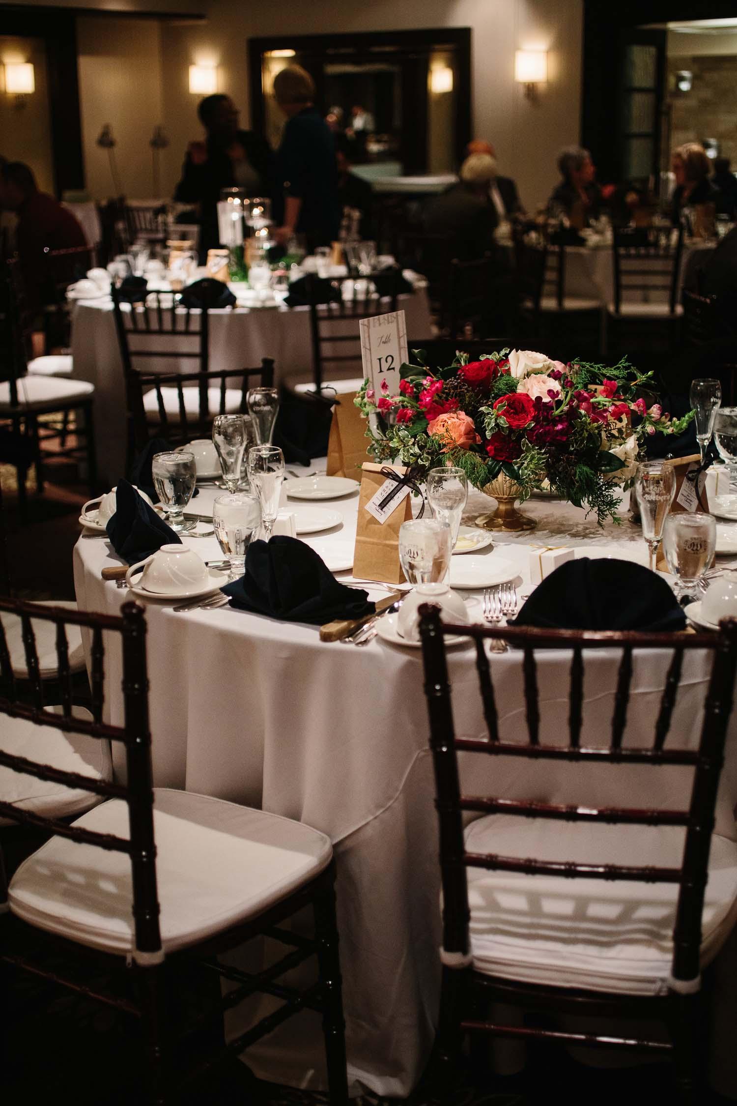 webers ann arbor wedding reception