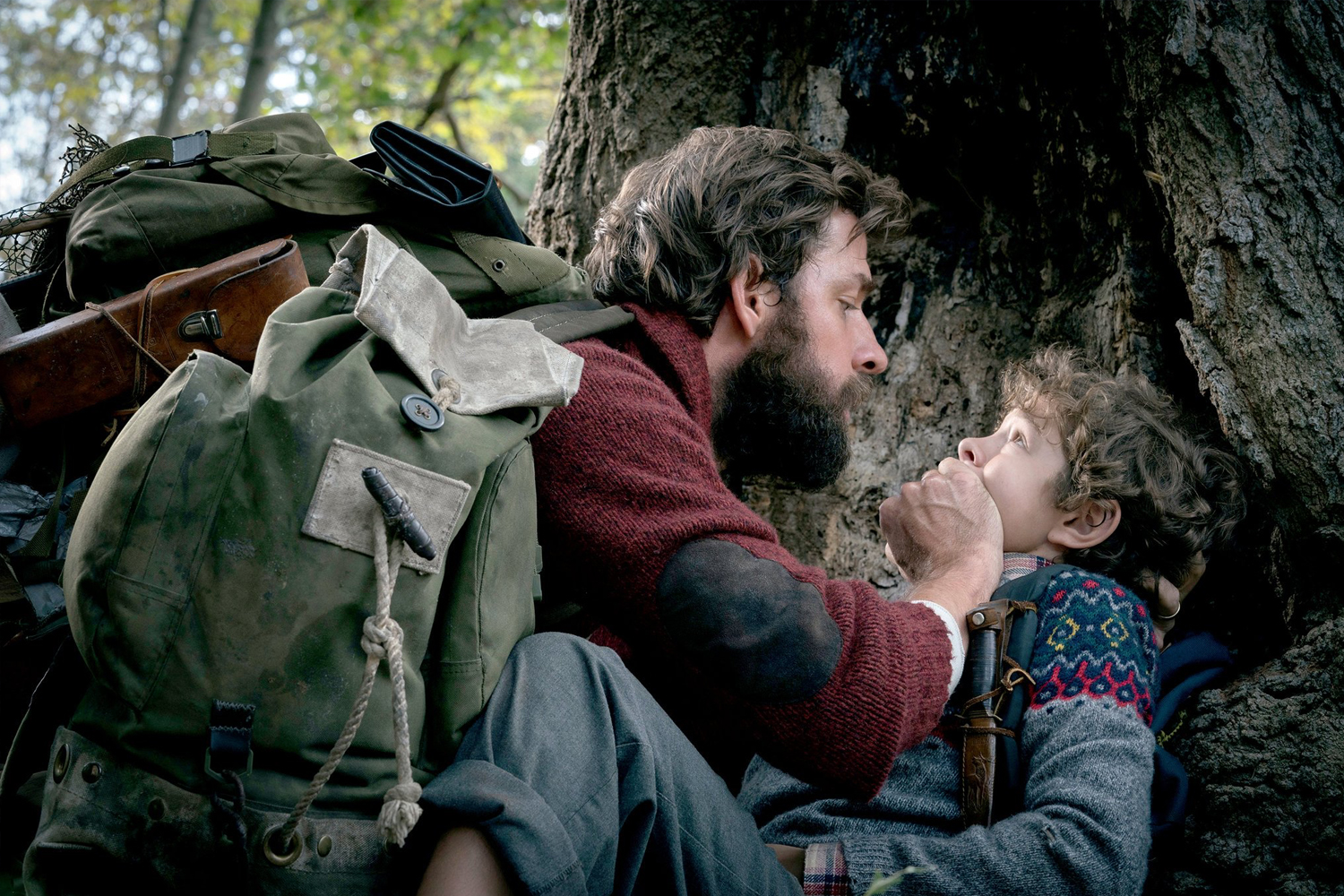 A Quiet Place - Who knew that John Krasinski had a horror film in him? And a good one at that. Following a post-apocalyptic family on the run from sound-sensitive beasts, A Quiet Place delivers with its scares and taut suspense, all without making a sound. Silent and powerful performances from Krasinski, Emily Blunt, and deaf actress Millicent Simmonds elevate the film above standard frightful fare.