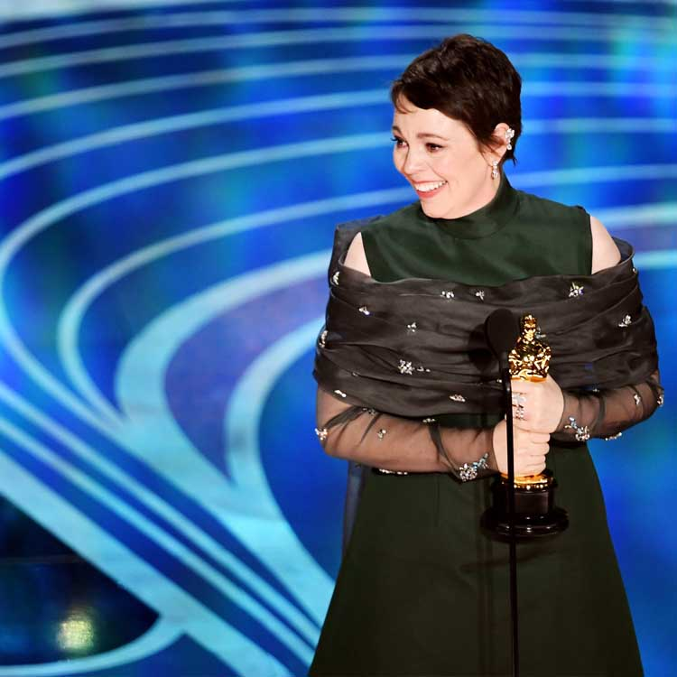 Olivia Colman's Charming Best Actress Speech - After last night, it isn't hard to see why The Favourite actress Olivia Colman is considered one of England's national treasures. Delivering one of the most humbling, least pretentious acceptance speeches of all time, Colman accepted the Best Actress award with charming humility and self-deprecating grace. Her shout-outs to her competition were heartwarming, and she even blew a raspberry when told to wrap it up. Even though Glenn Close was favored to win, one can't help but root for Olivia Colman and her incredible performance as Queen Anne in The Favourite.