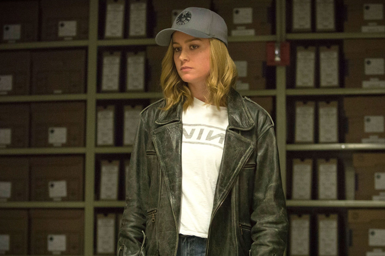 """""""…buoyed by an excellent supporting cast and Brie Larson's breezy chemistry with Samuel L. Jackson's Nick Fury, the film is a delight when it's not taking itself too seriously."""" -"""