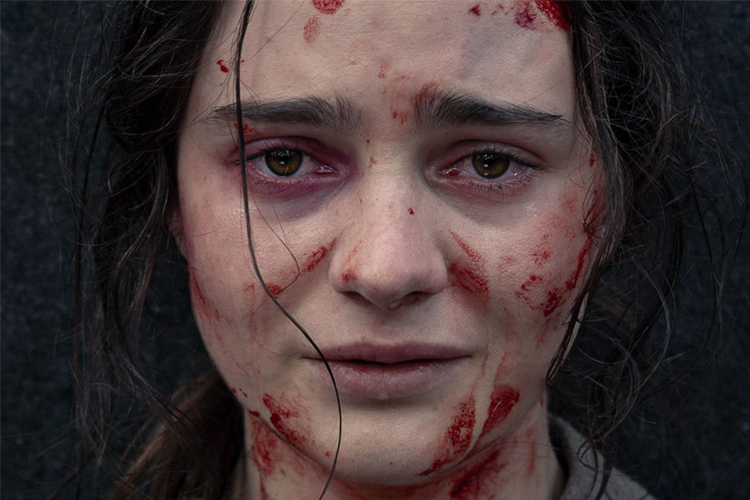 """""""A savage treatise on the evils of man - both the species and the gender - The Nightingale is a gauntlet of violence and terror that also happens to be one of this year's most powerful films."""" -"""