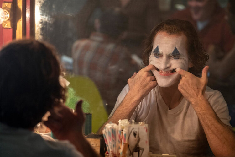 """""""In the end, [Joker] is a film worthy of neither blind exaltation nor watchdog fear-mongering - it simply isn't significant enough to warrant it."""" -"""