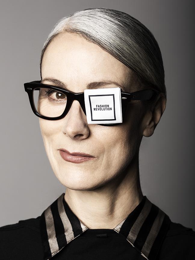 Caryn Franklin. Photography Trevor Leighton. Make up Lauren Baker, prettyraw.co.uk
