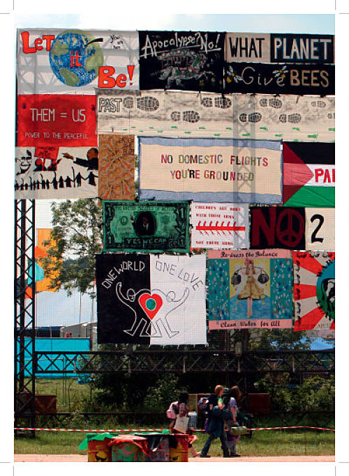And all the art. Excerpt from scrapbook © Glastonbury Festival