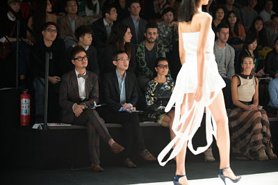The EcoChic Design Award China 2012 Grand Final at Shanghai Fashion Week