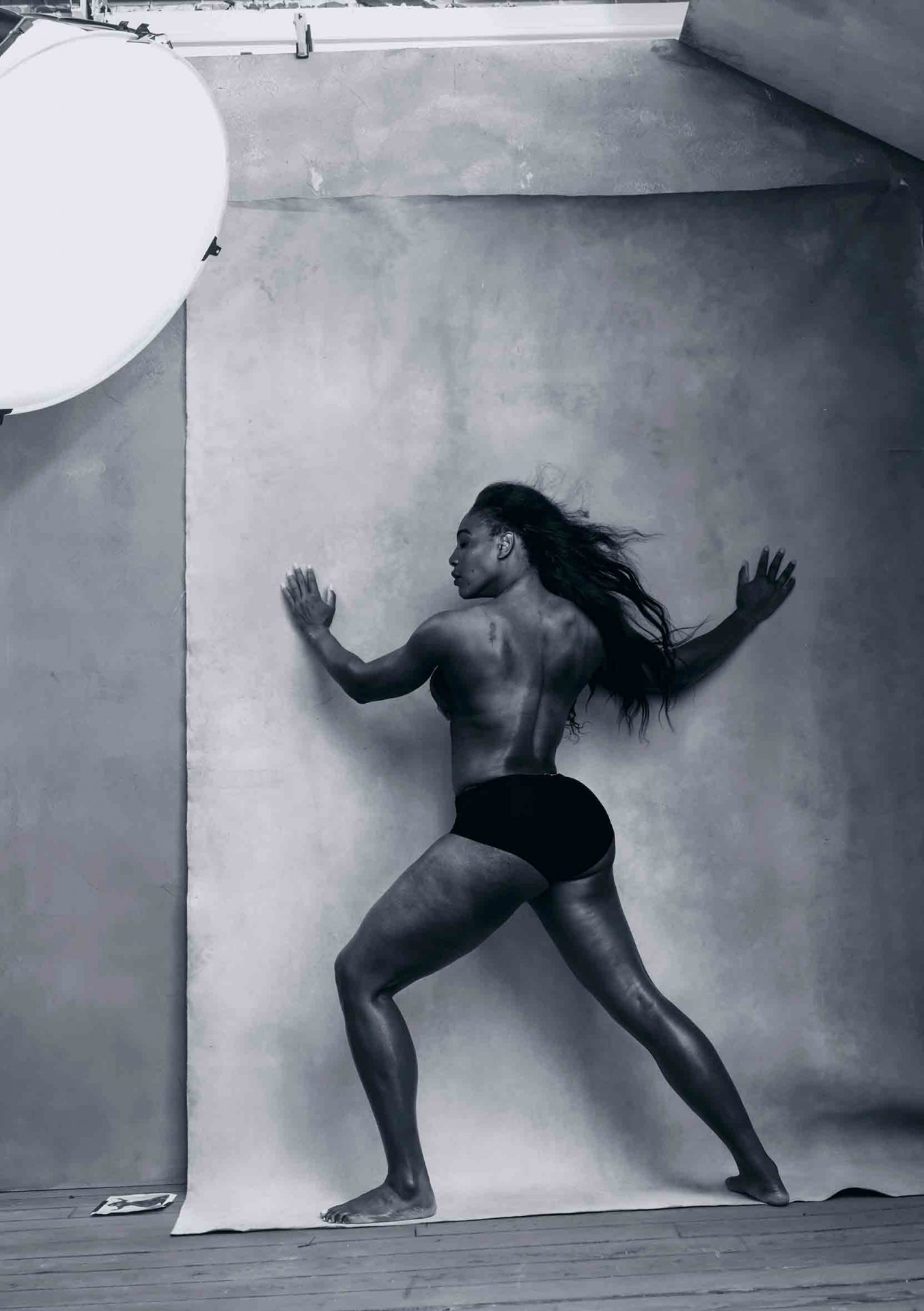 Serena Williams. Photo: Annie Leibovitz.