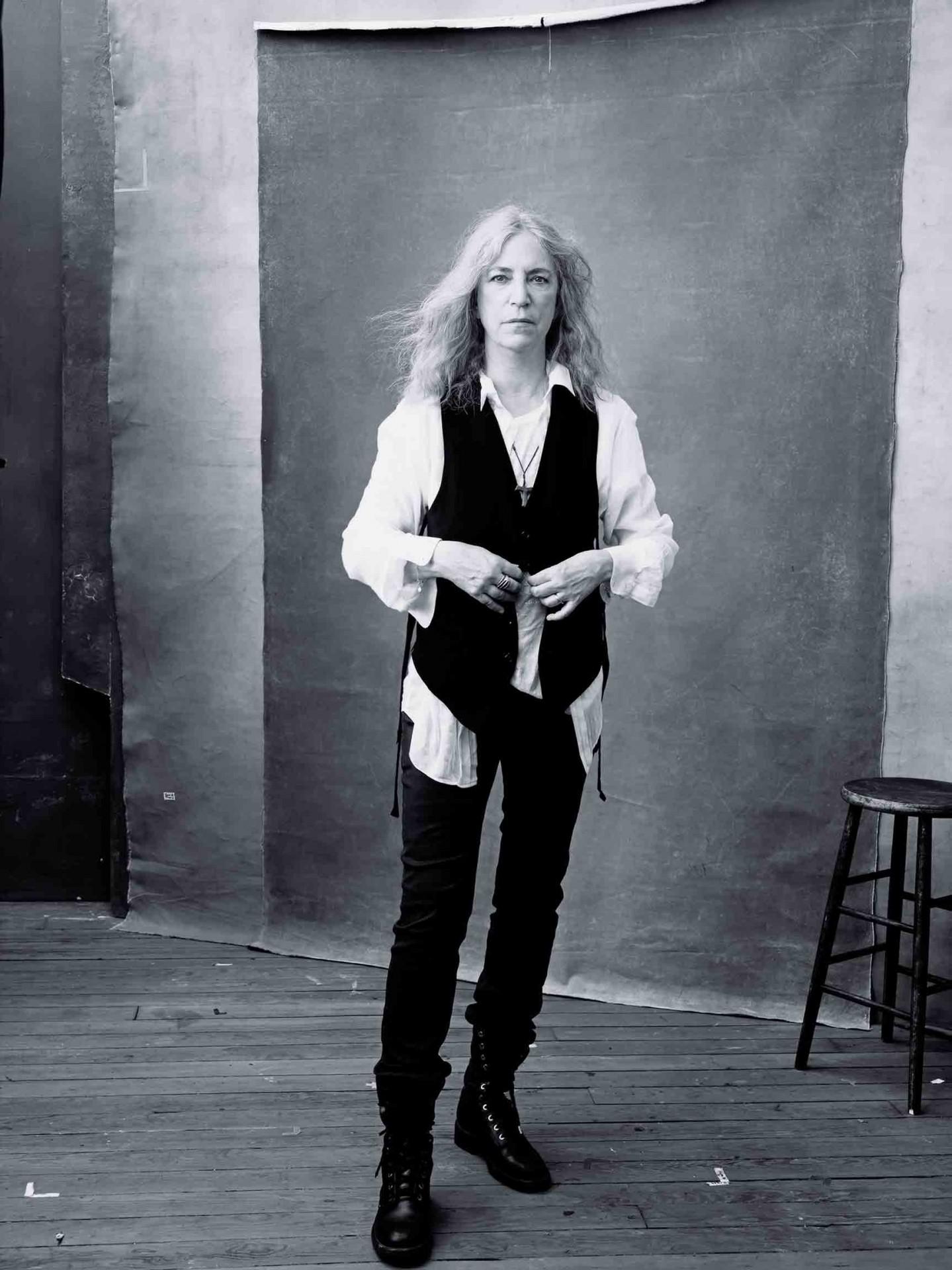 Patti Smith. Photo: Annie Leibovitz.