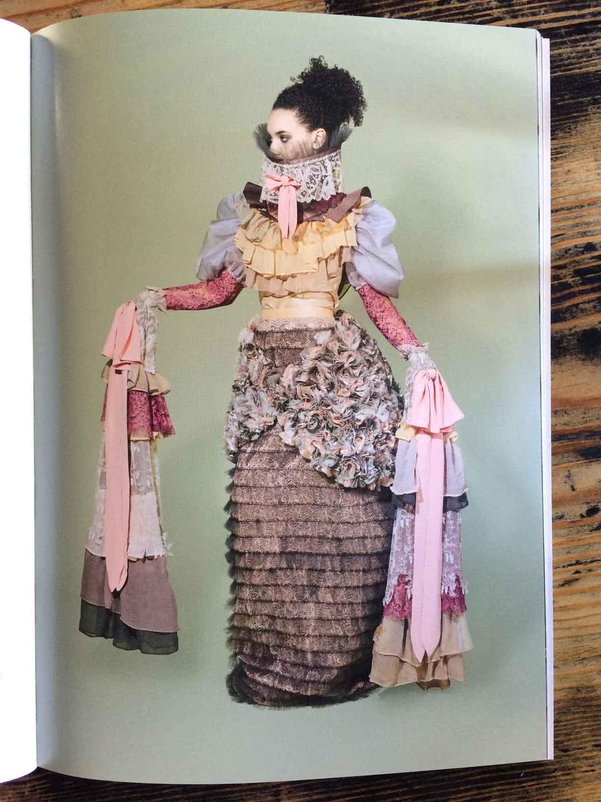 """An Excellent Ornament of Man,"" 2016, by Elizabeth Thomas, BA Hons Fashion Design, Manchester School of Art."