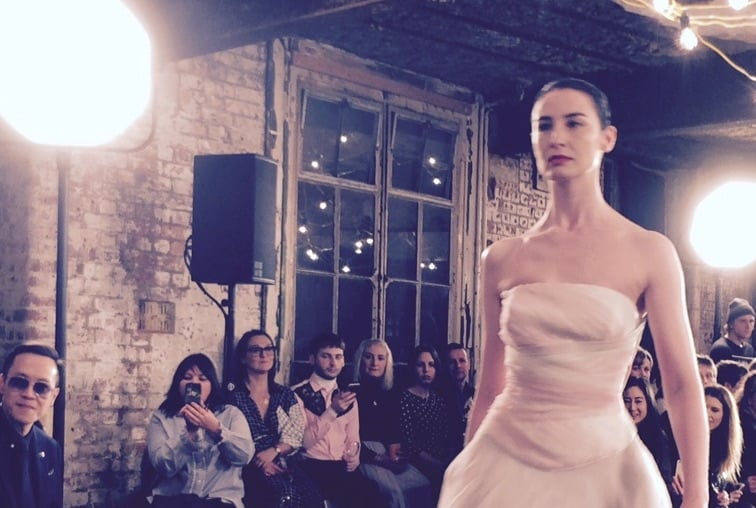 Setting new standards: Oxfam's first Fashion Week show. Picture: Bel Jacobs.