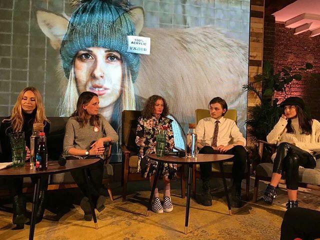 The panel at LUSH.