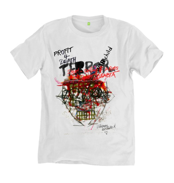 Vivienne Westwood for War Child; t-shirt by Rapanui.