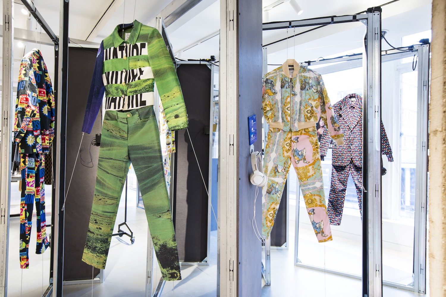 """""""It's exciting to have the opportunity to give a subculture's roots a nod through cultural display in a retail space."""" Super Sharp Reloaded at Selfridges."""