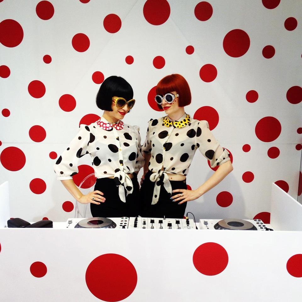 Broken Hearts at the Louis Vuitton Yoyoi Kusama launch