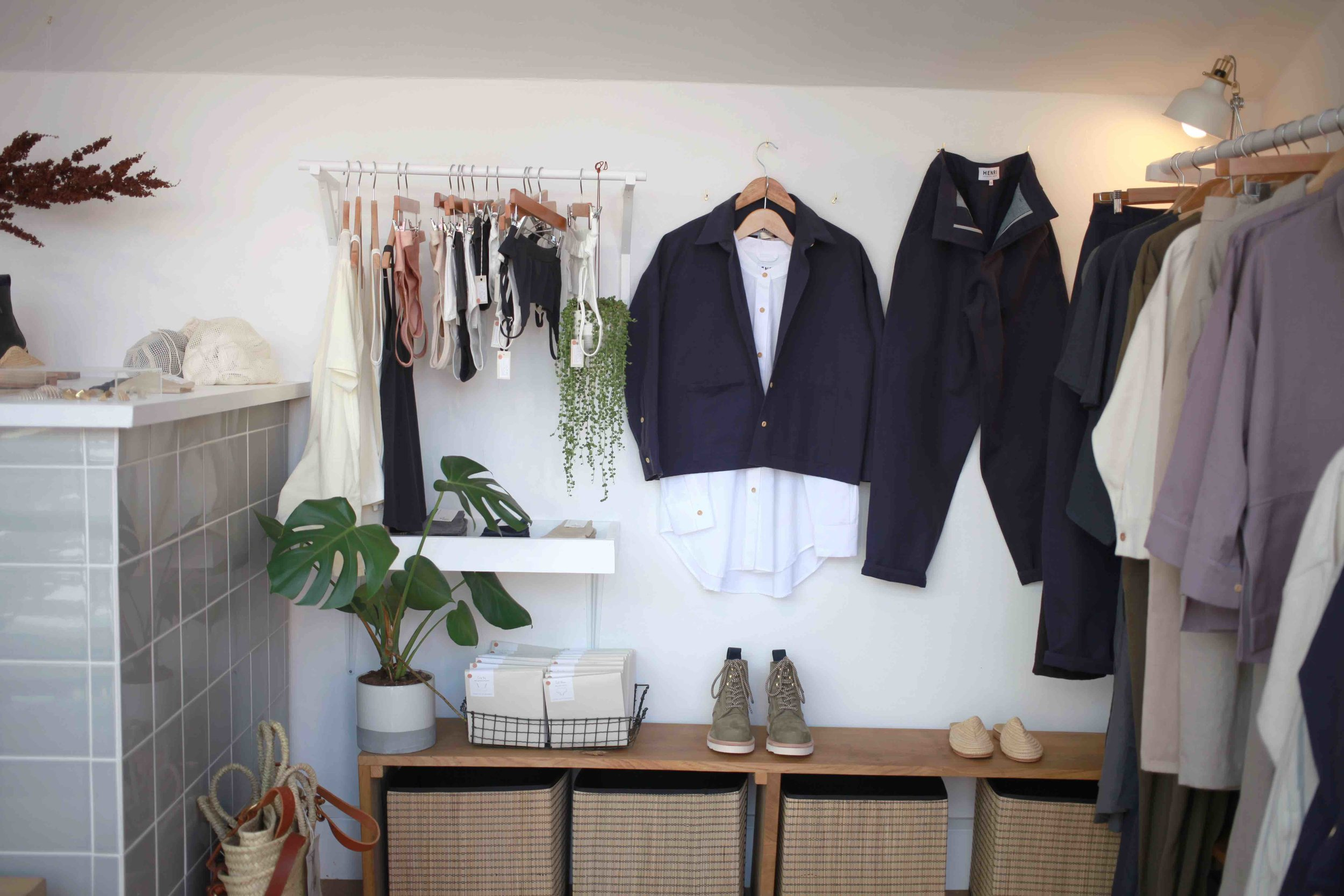 Henri's Bethnal Green Road store is tiny and full of light. Picture: Henri.