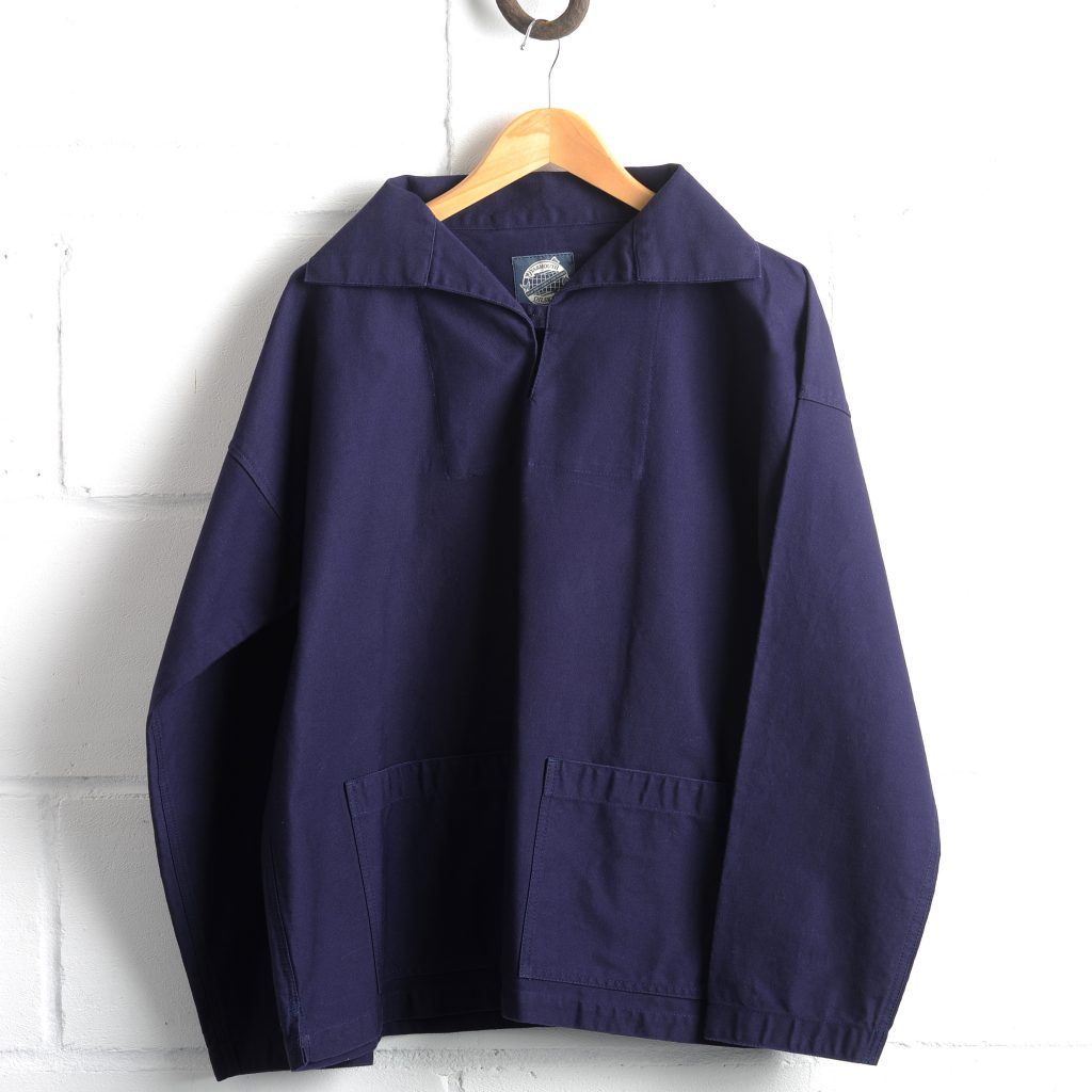 Yarmouth Oilskins' beautiful smocks soften and mature with age.
