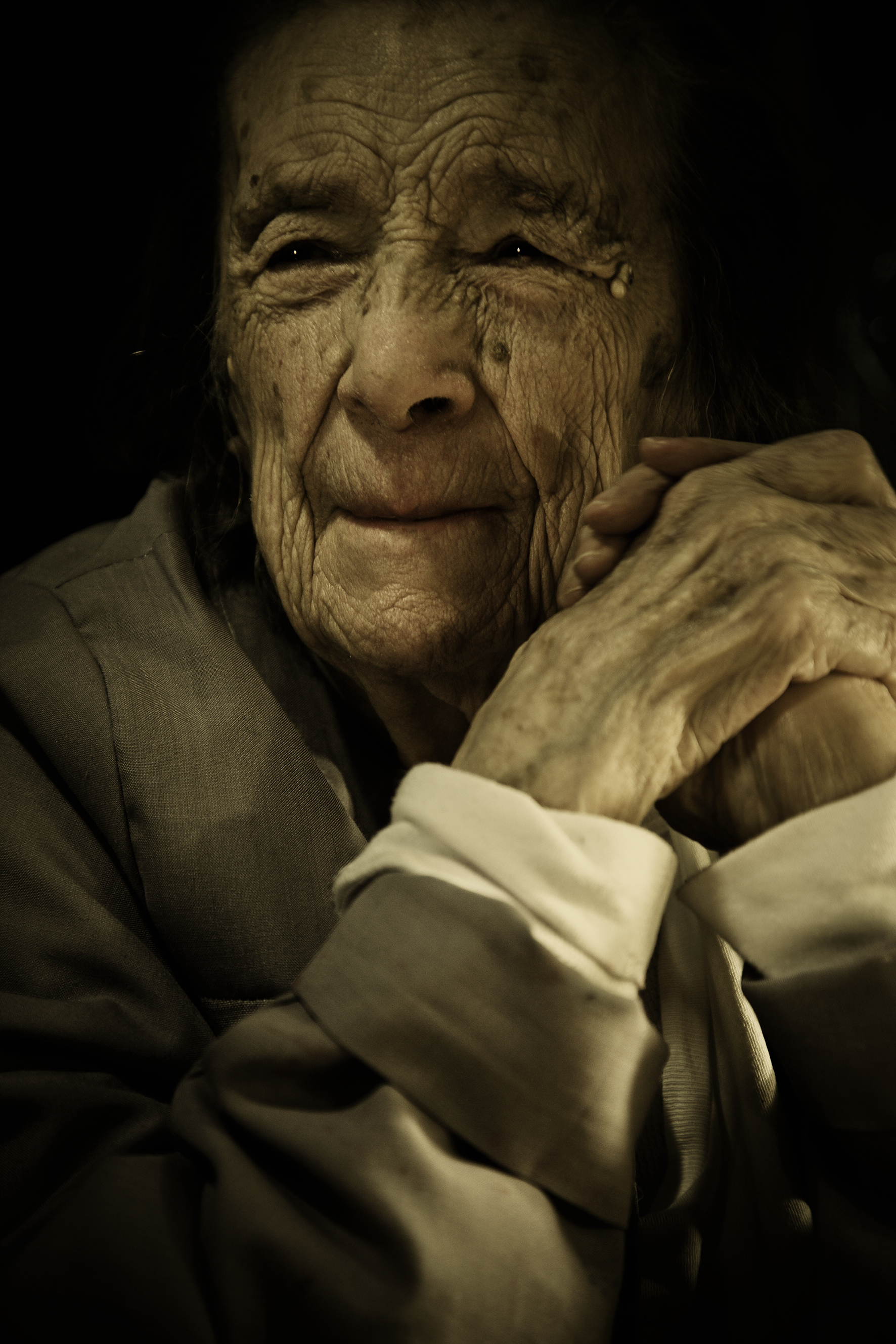 Photograph of Louise Bourgeois by Scott Douglas, Issue 2, 2010