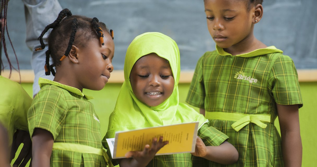 For every bag sold, Olori sponsors one month of education for an underprivileged girl.