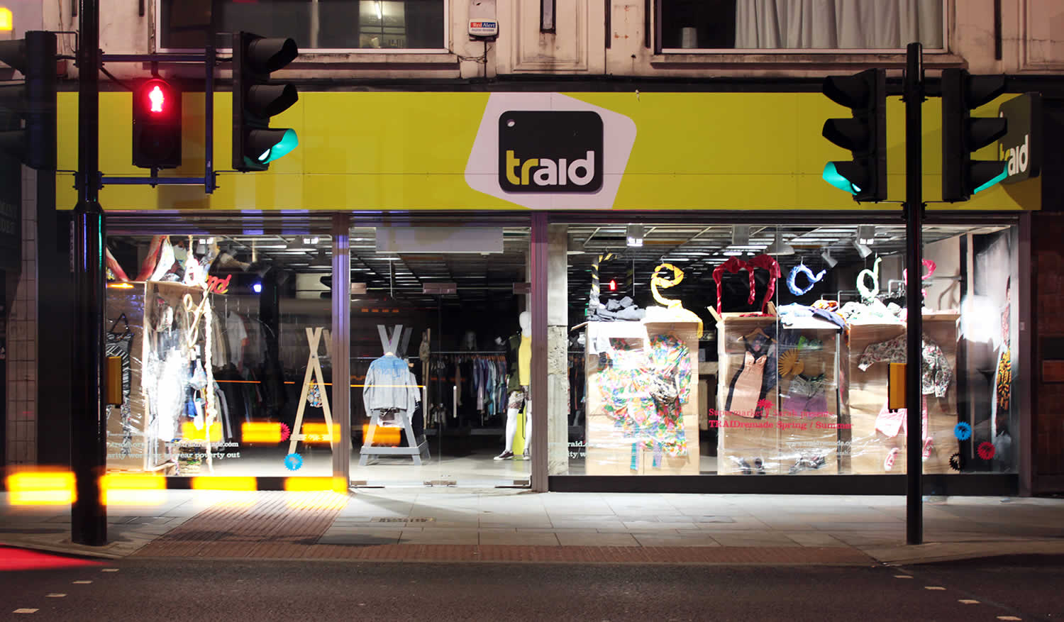 TRAID's bold high street identity helped the charity find its niche.
