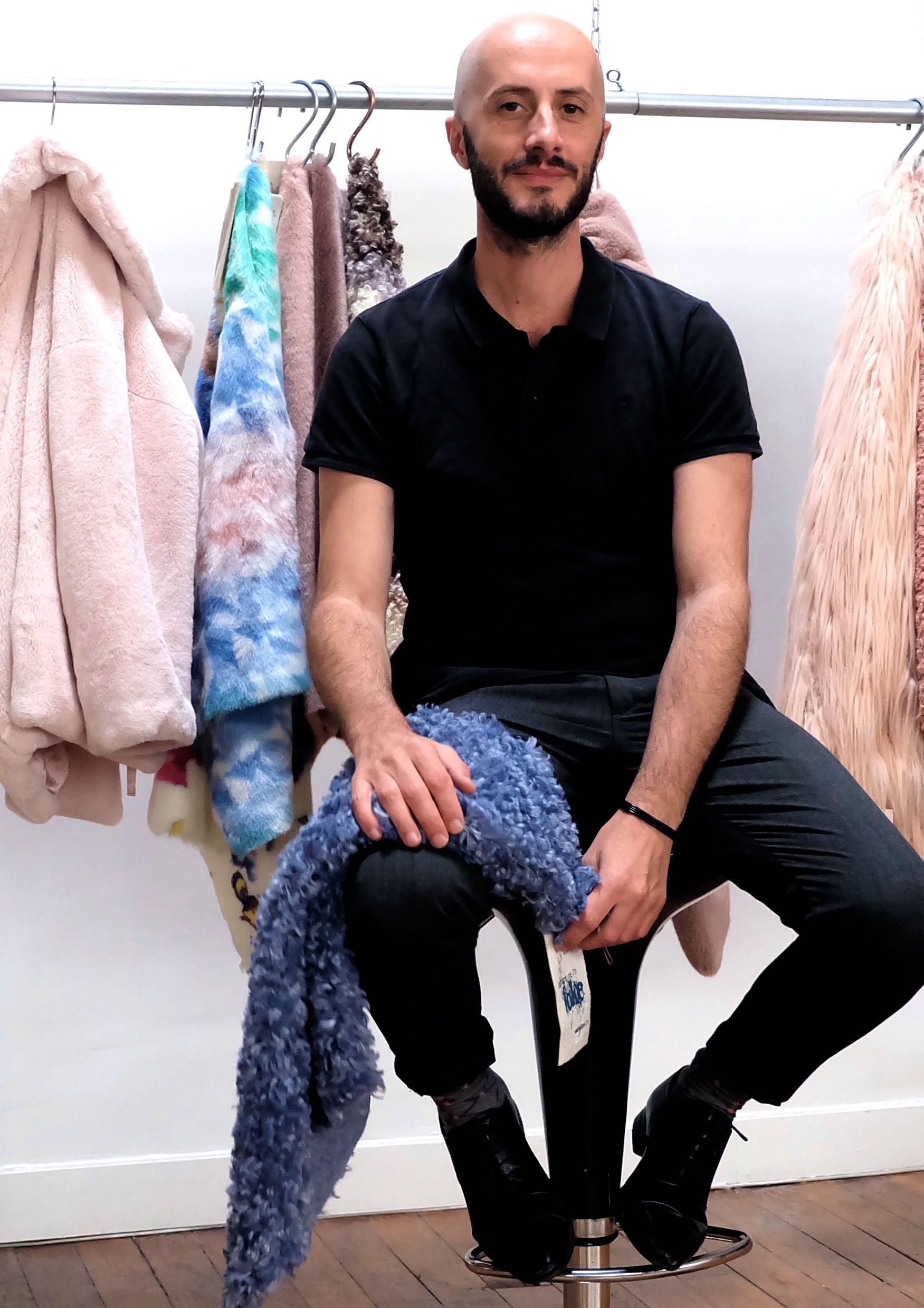 Arnaud Brunois, founder, Faux Fur Institute. Picture: Ecopel.