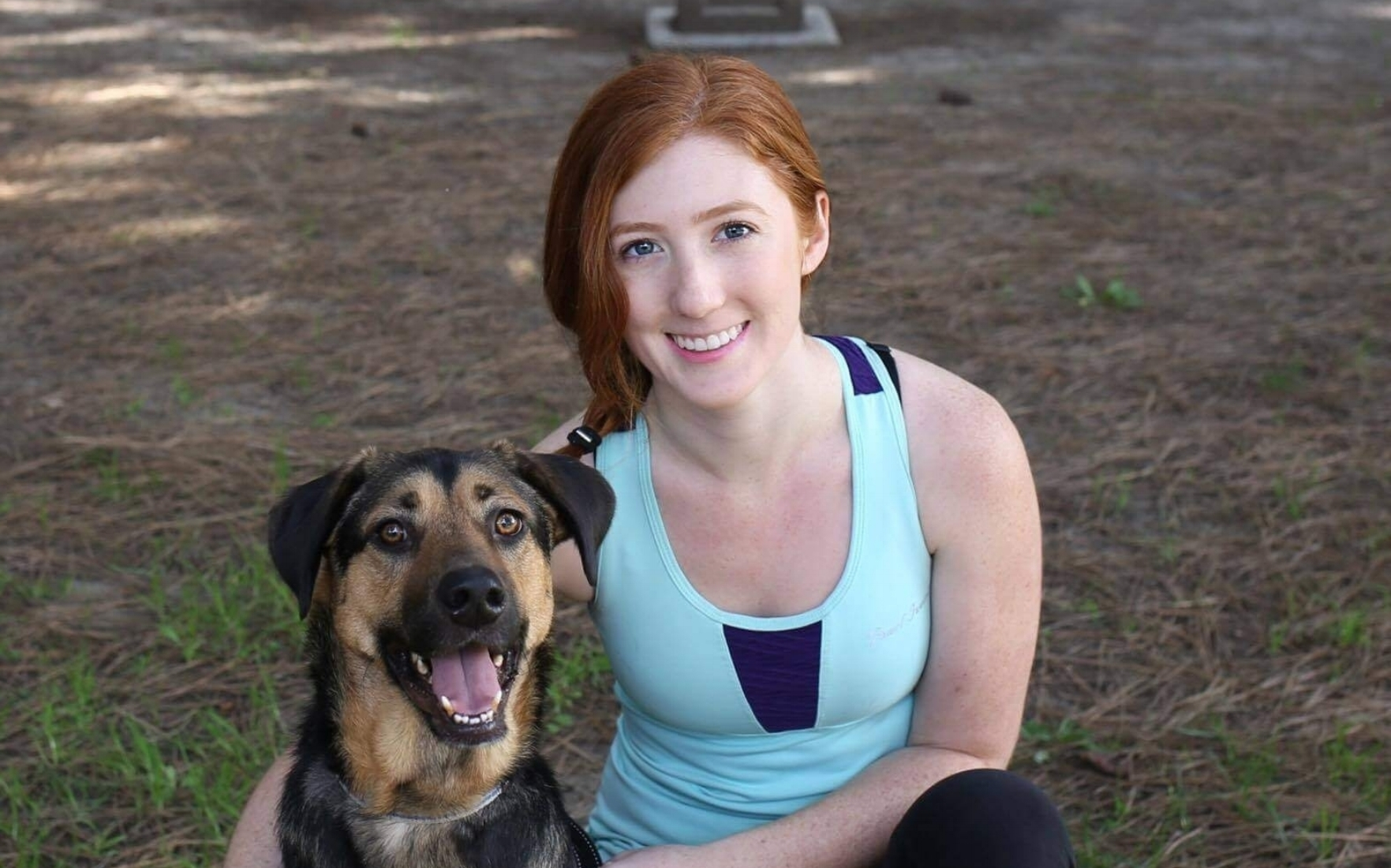 Dog Trainer Lydia Hunter is positive reinforcement dog trainer at Dog Savvy Los Angeles.