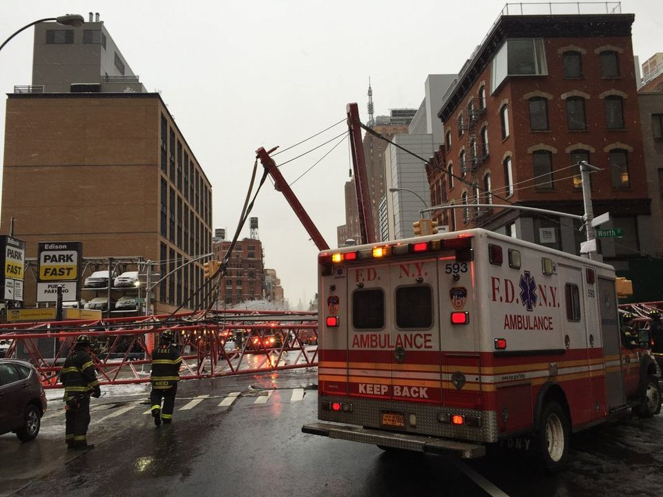 A Crane Fell and Killed Someone in NYC - I got the story about the city's investigation into the crane's operator.