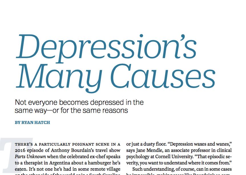 On Depression — Time