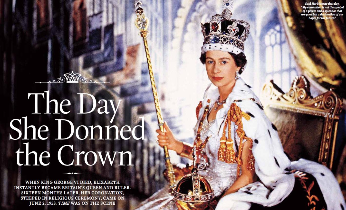 Queen Elizabeth — Time