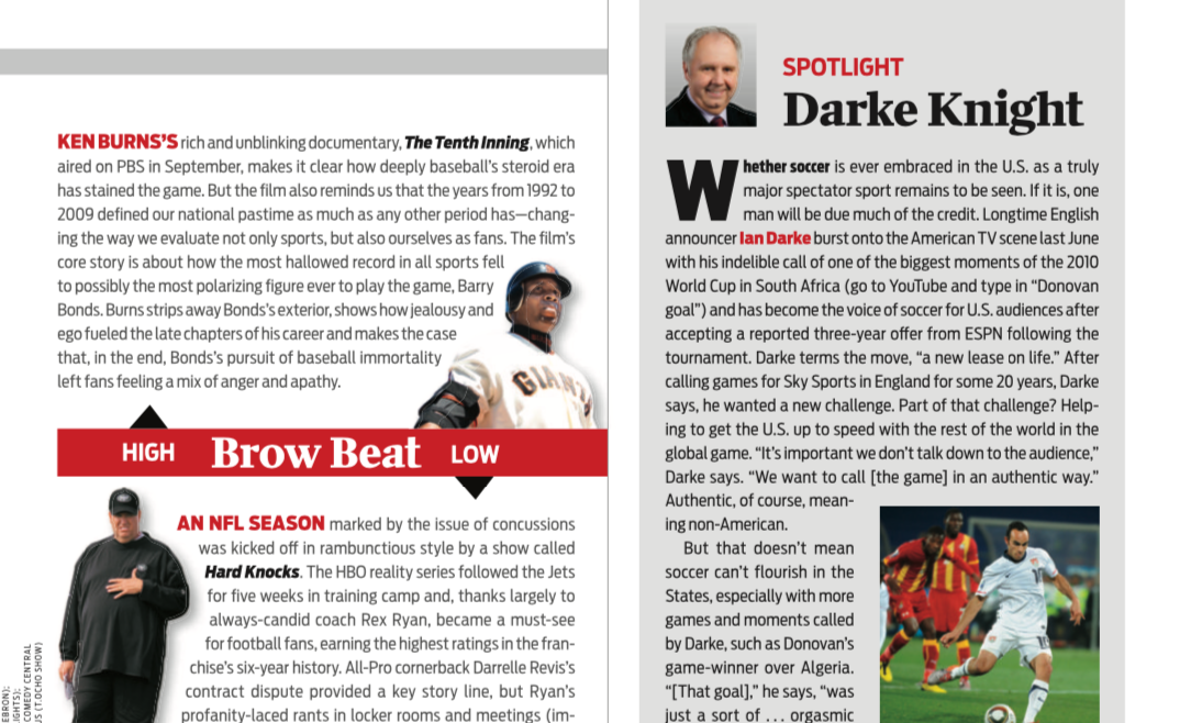 Media analysis — Sports Illustrated