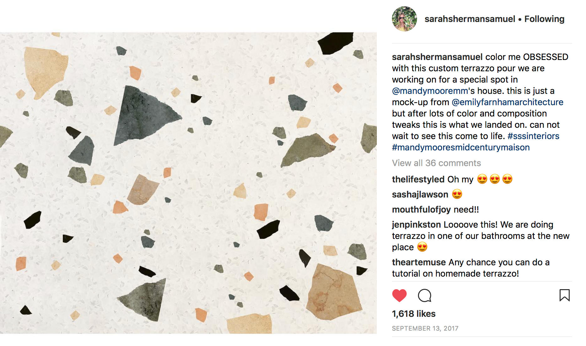 Sarah Sherman Samuel | Instagram Image
