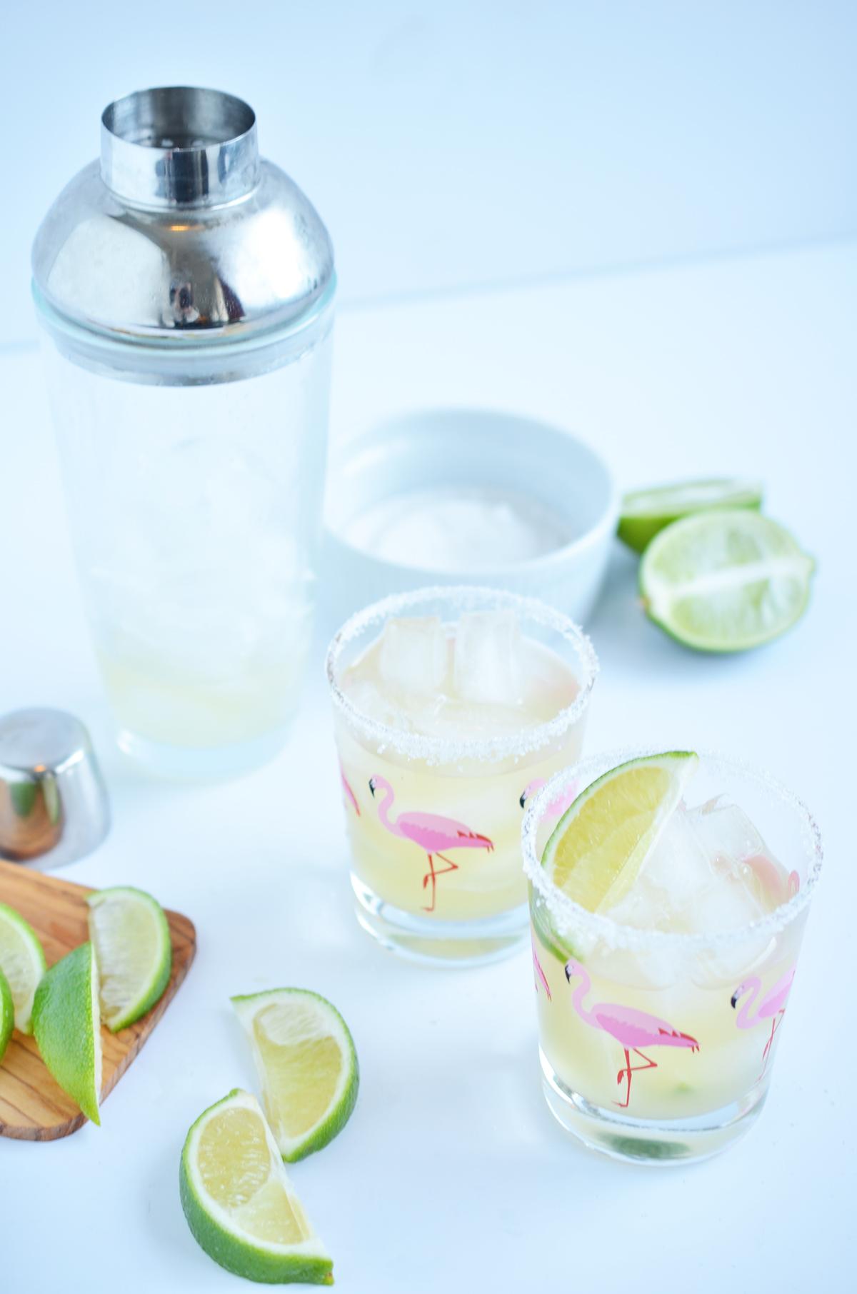 Tropical Skinny Margarita | Ali Hedin
