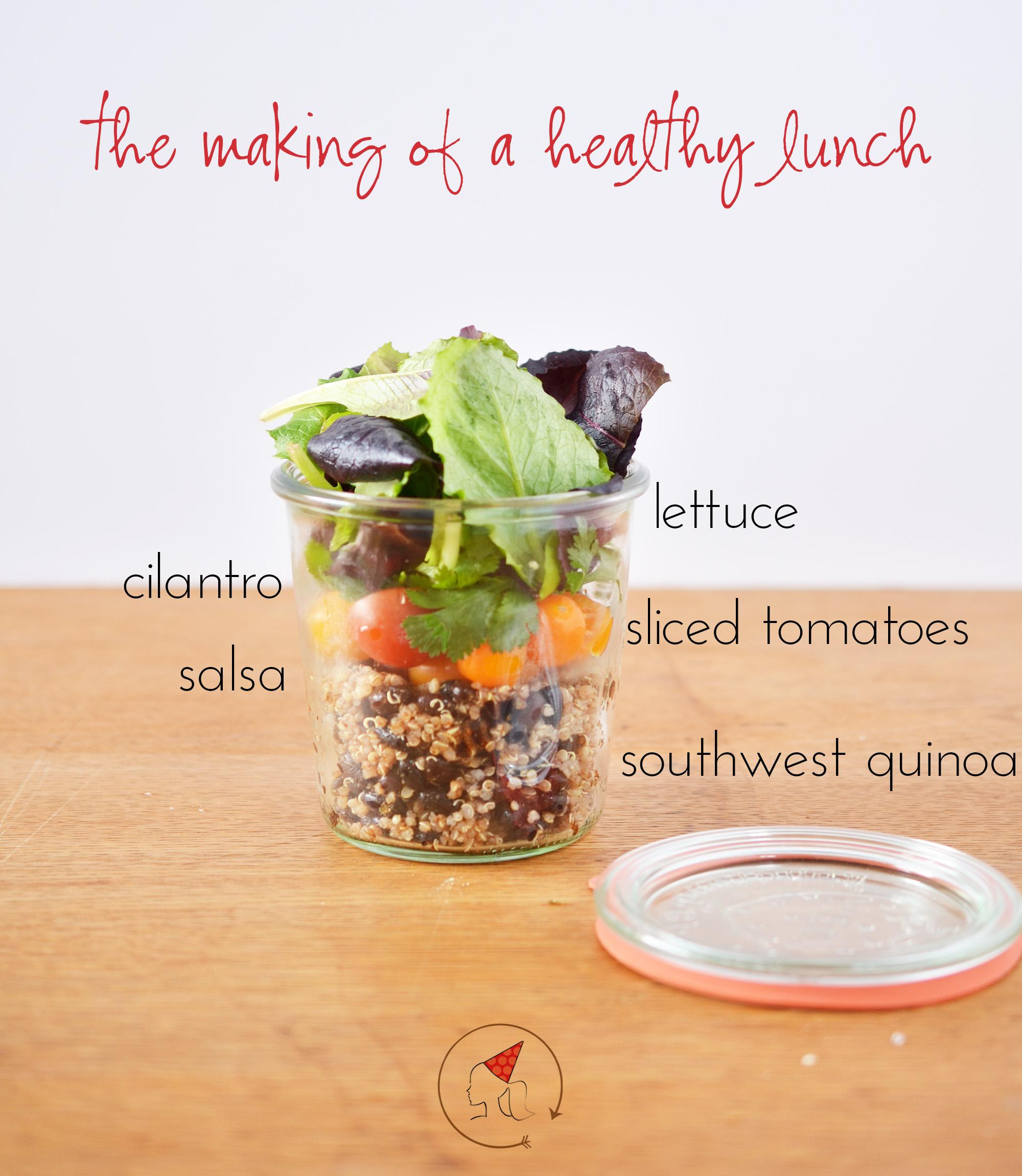 Ali Hedin | Southwest Quinoa Lunch