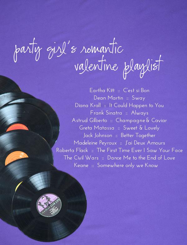 Ali Hedin's Valentine Playlist