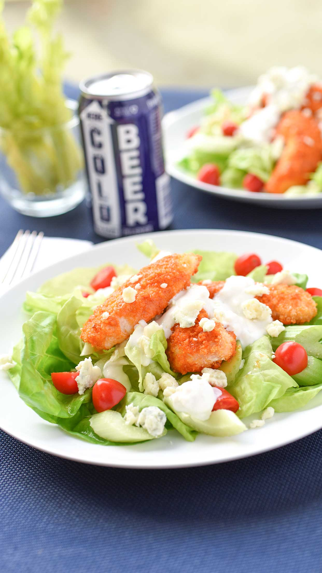Ali Hedin | Healthy-ish Buffalo Chicken Salad
