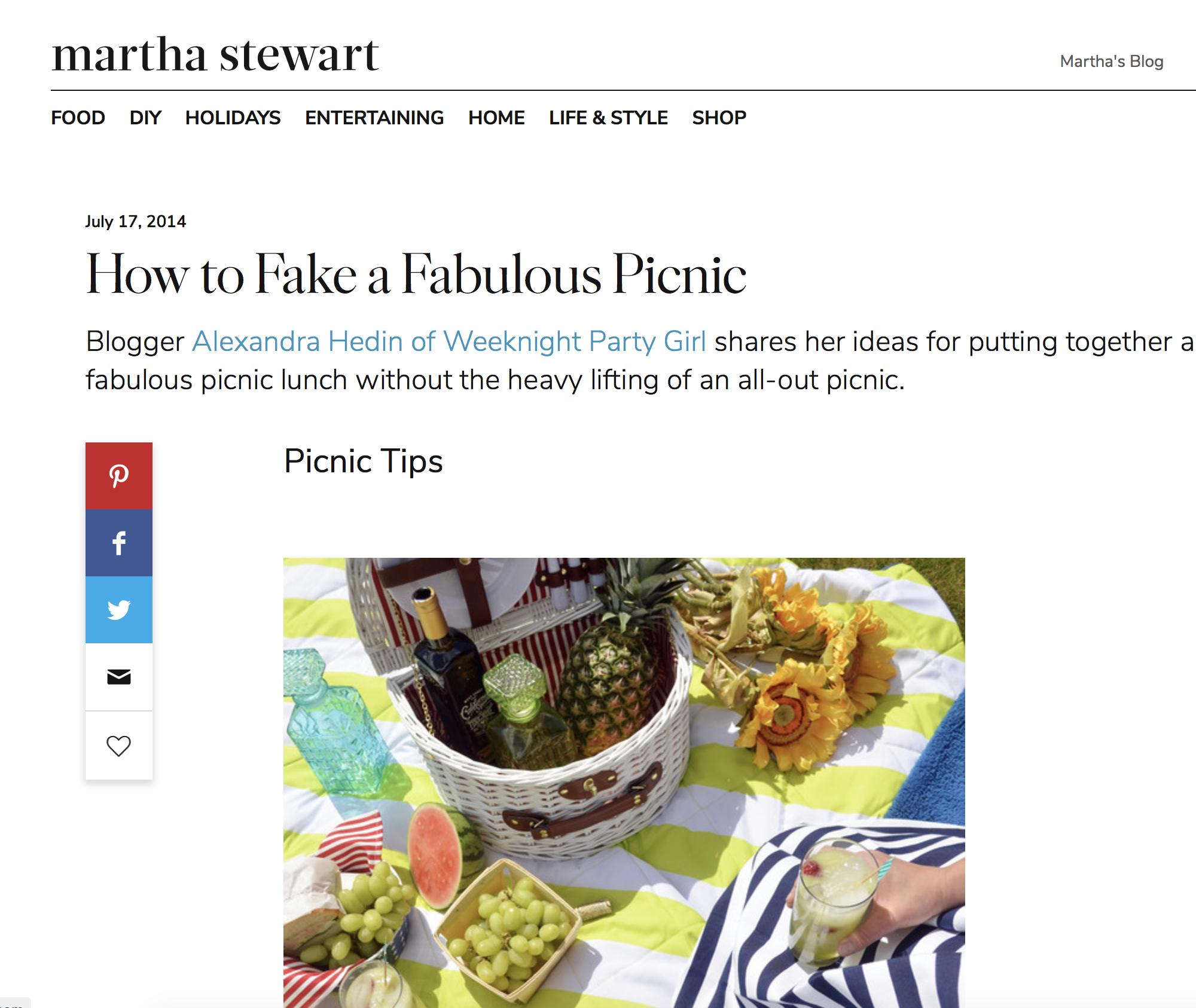 Martha Stewart 2014