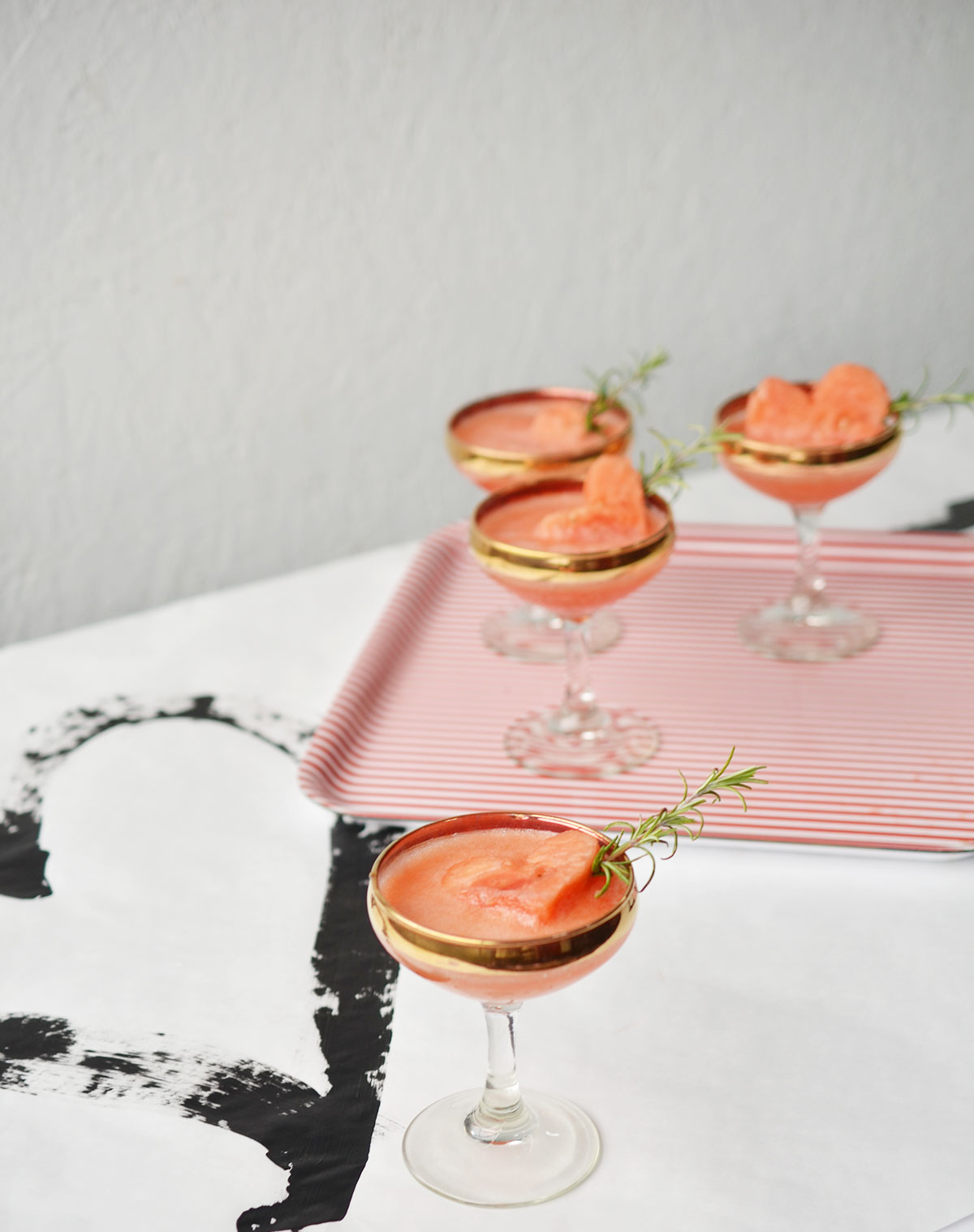Ali Hedin | Watermelon Fizz for Galentine's Day