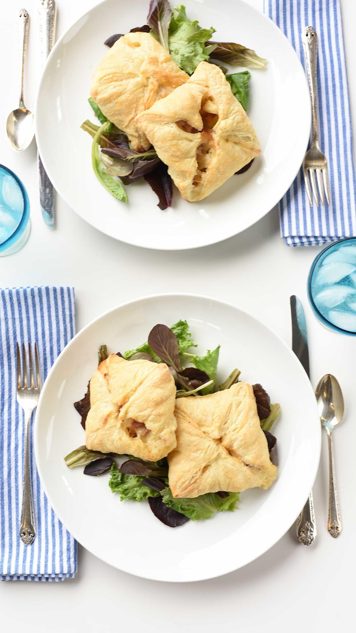Ali Hedin | Ham & Cheese Puffs