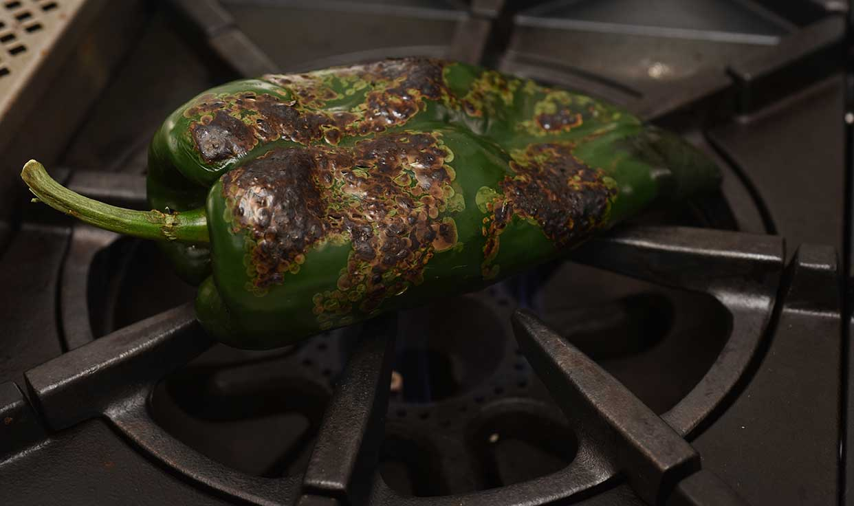 Ali Hedin | Roasted Poblano Chili