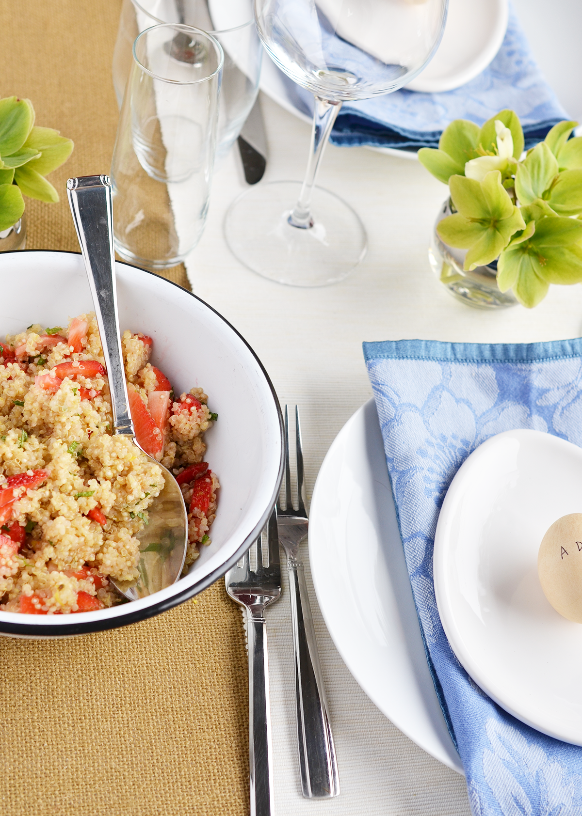 Ali Hedin | Strawberry Mint Quinoa