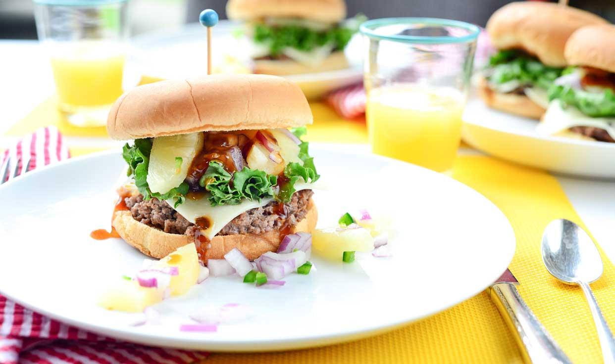 Ali Hedin | Hawaiian Burger