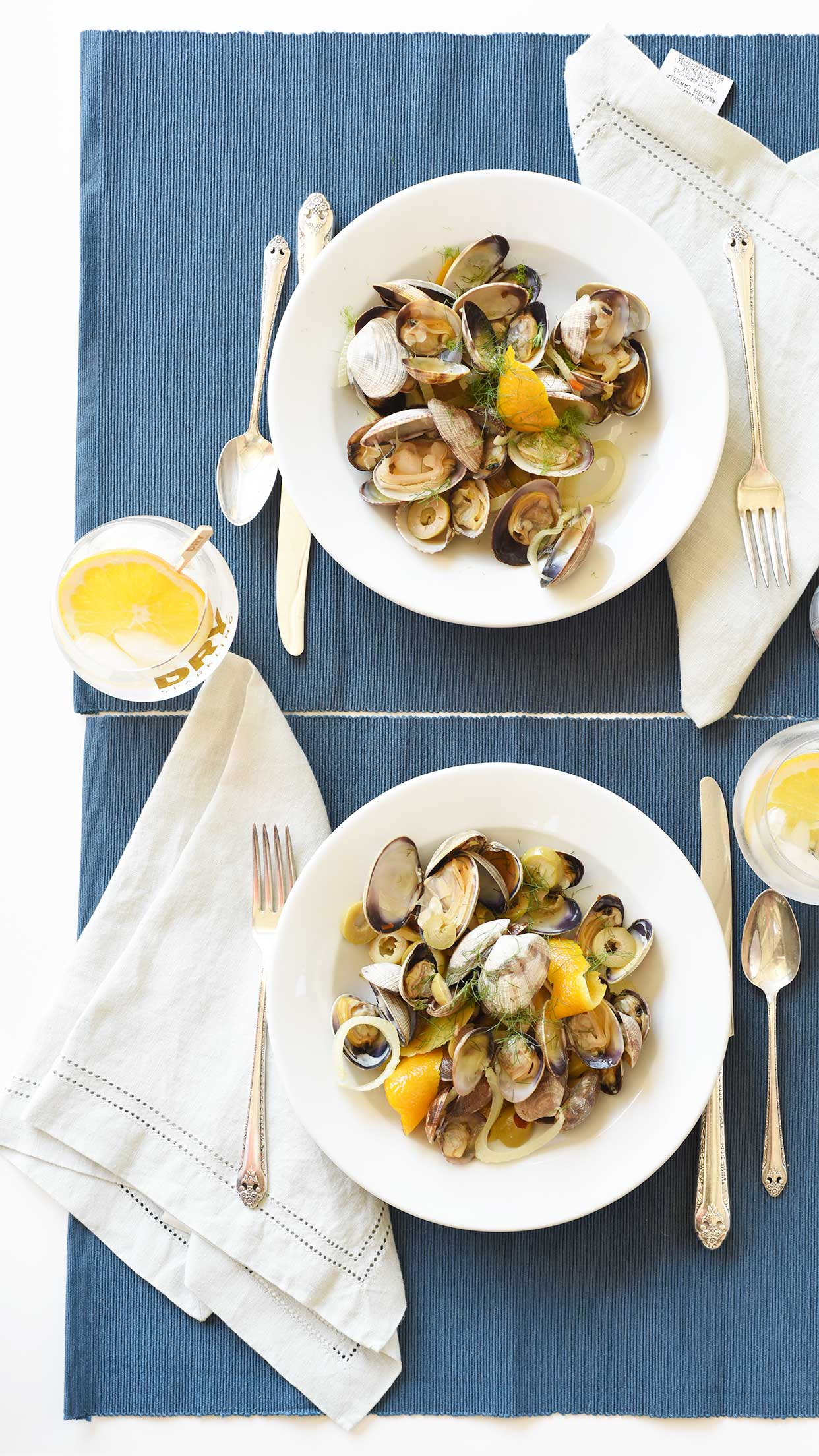 Ali Hedin | Citrus Steamed Clams