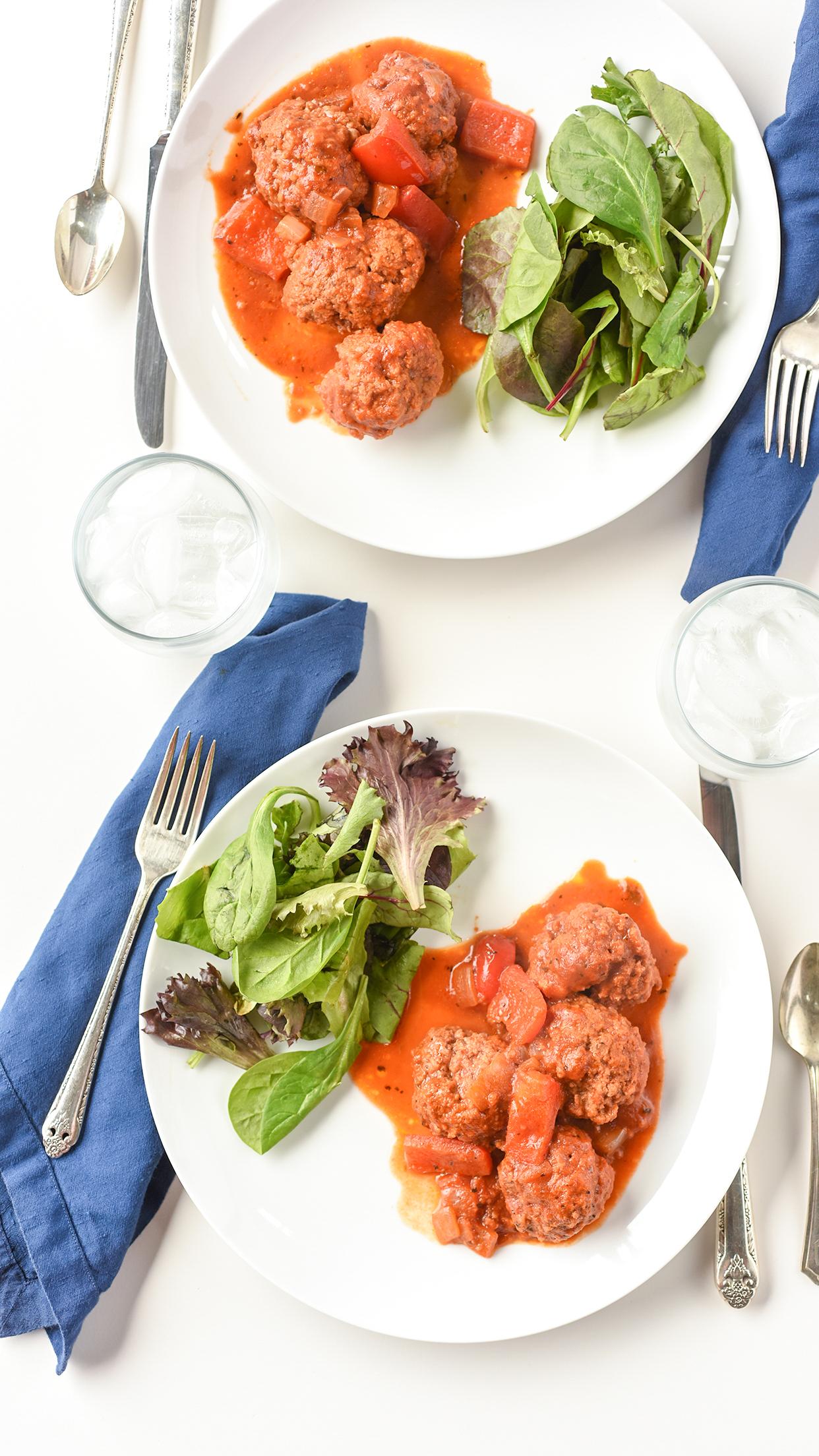 Ali Hedin | Meatballs in Red Sauce