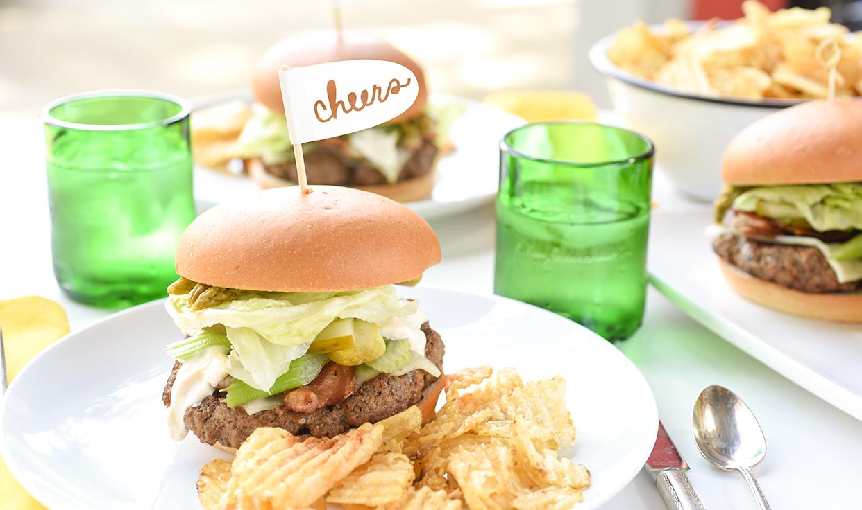 Ali Hedin   Bloody Mary Burger