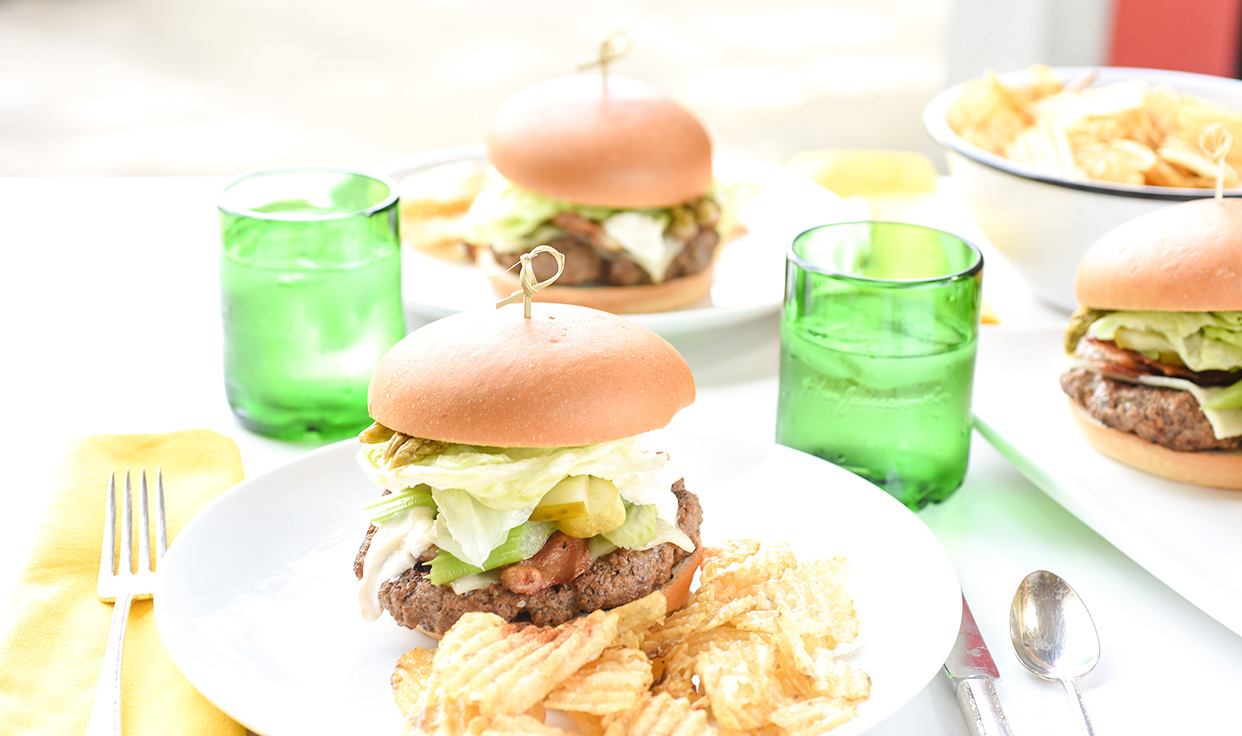 Ali Hedin | Bloody Mary Burger